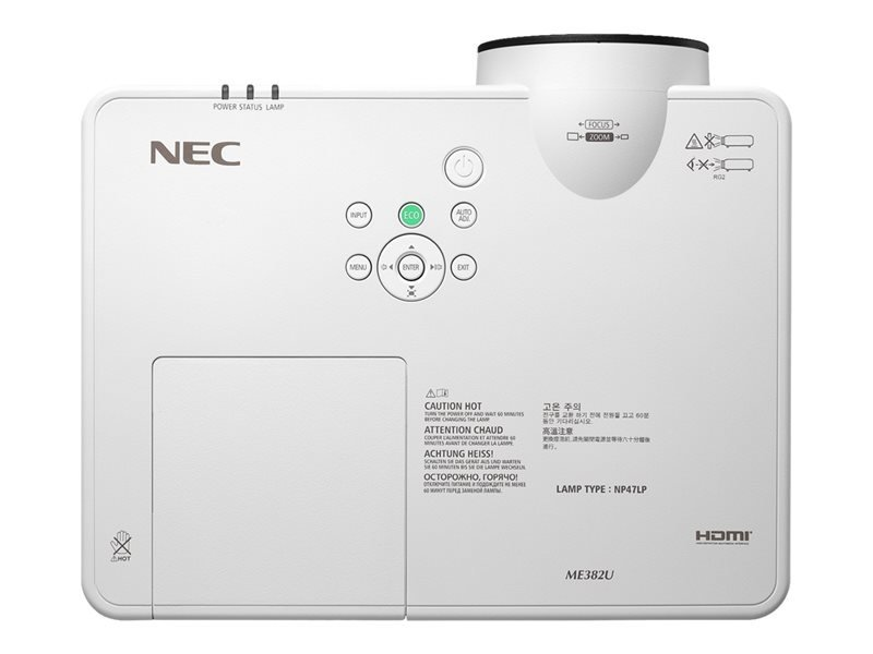 NEC NEC ME382U mobiele WUXGA beamer