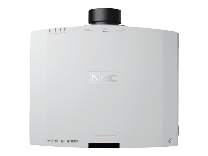 NEC NEC PA653U Installatie beamer