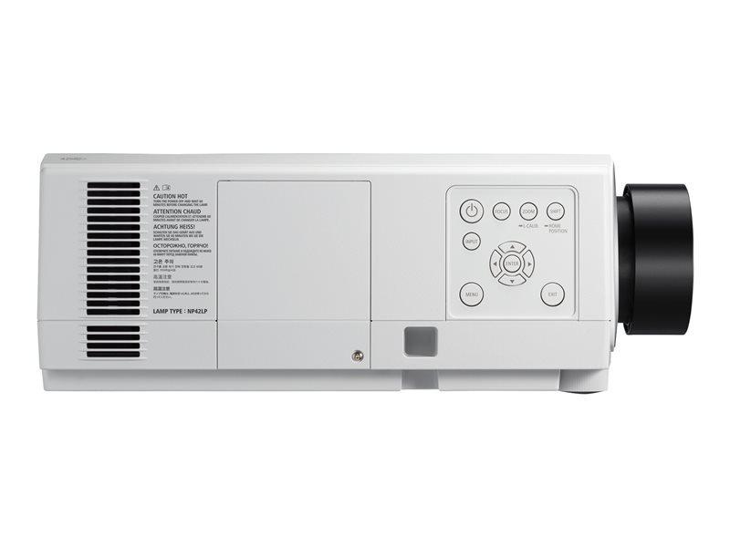 NEC NEC PA903X Installatie beamer