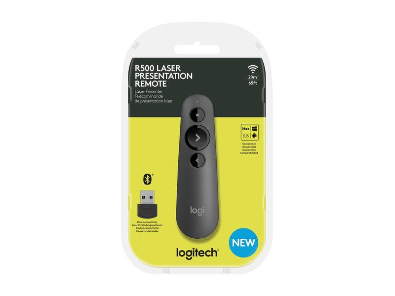 Logitech Logitech R500 draadloze presenter zwart