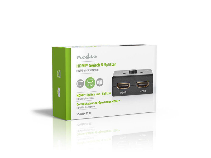 Nedis HDMI Splitter en Switch VSWI3482AT
