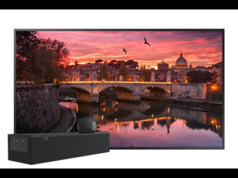 Samsung QB55R met Acendo Vide 5100 set