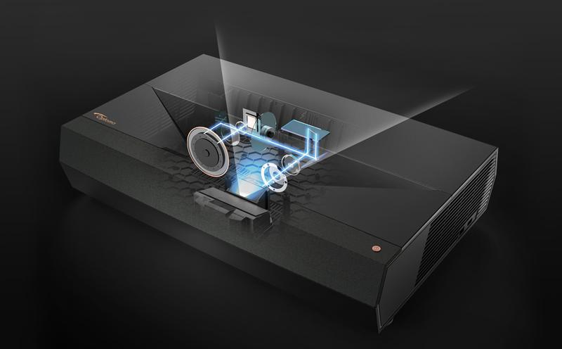 Uitleg laser techniek bij een beamer