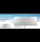 "Man & Machine Man & Machine ""Very Cool Flat"" toetsenbord"