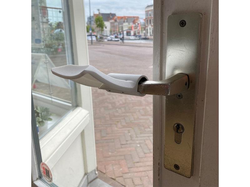 Handenvrije deuropener Carna wit