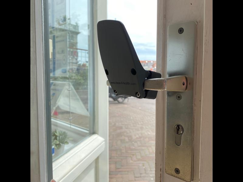 Handenvrije deuropener Carna antraciet