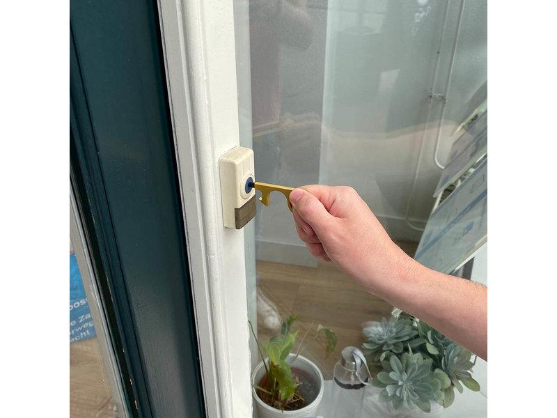 Mobiele deuropener Paean goud met touchscreen ondersteuning