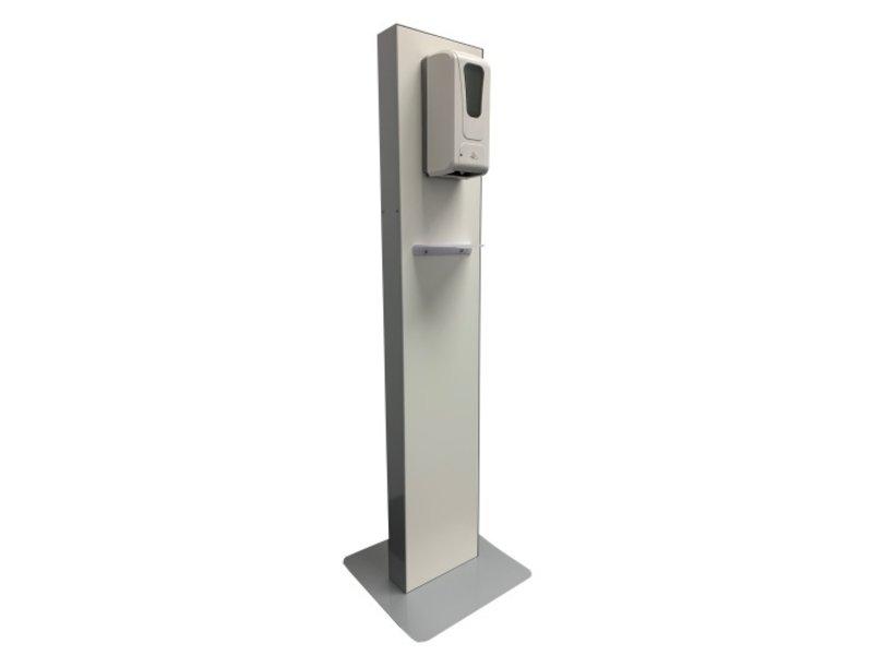 Desinfectiezuil WP-S met bewegingssensor dispenser