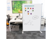 Scheidingswand whiteboard set