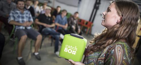 Catchbox koopt u bij Beamerexpert