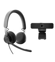 Logitech Logitech C925e met Zone Wired headset