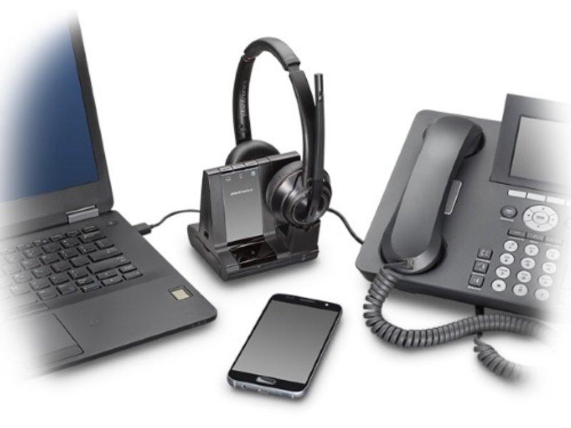 POLY POLY Savi W8220 DECT-headset