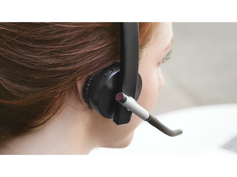 Logitech Logitech Wireless Headset Dual H820E Zwart