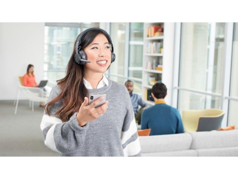 Logitech Logitech Zone Wireless UC koptelefoon