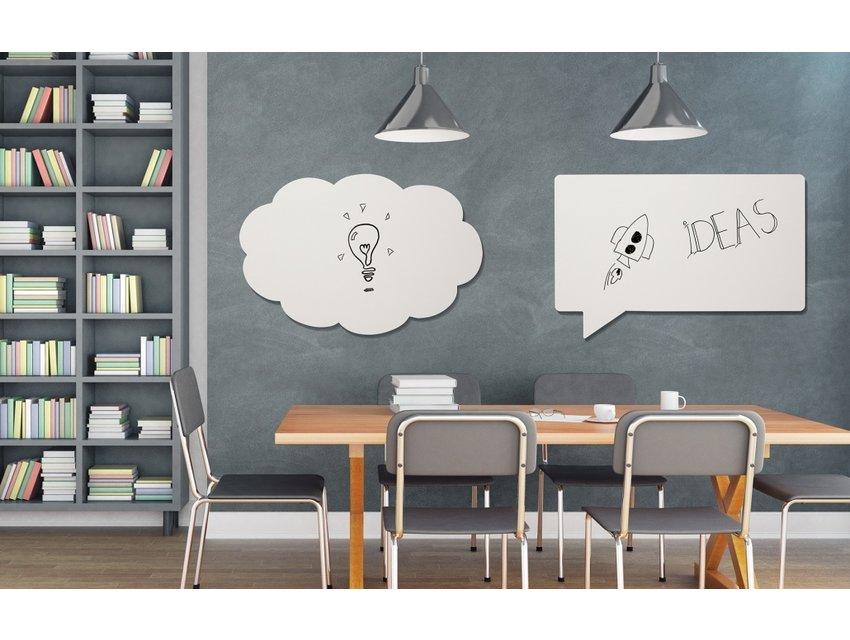 Chameleon whiteboard tekstballon