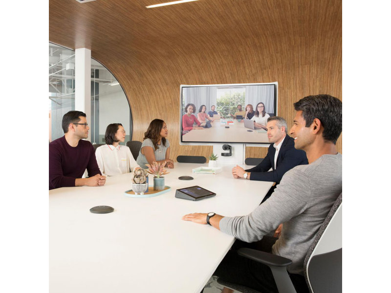 Videoconferencing set groot