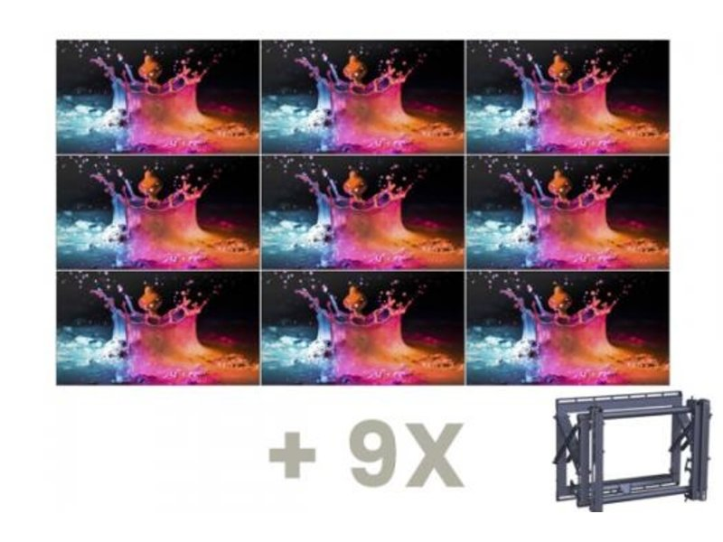 Samsung Samsung UD46E-B & Vogel's  videowallbundel