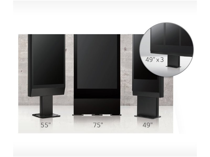 LG LG ST-491X Commerciële standaard voor LG 49XEB3E