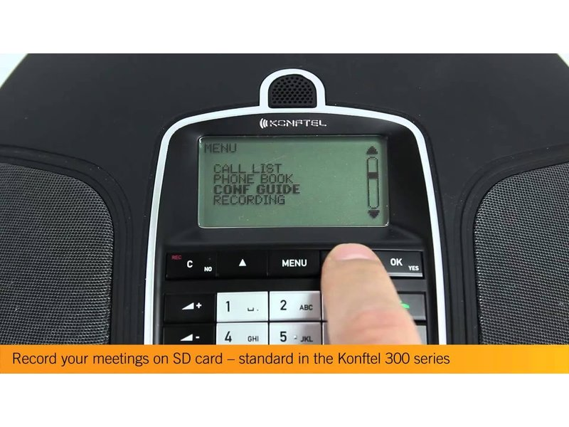 Konftel Konftel 300Mx draadloze conferentietelefoon
