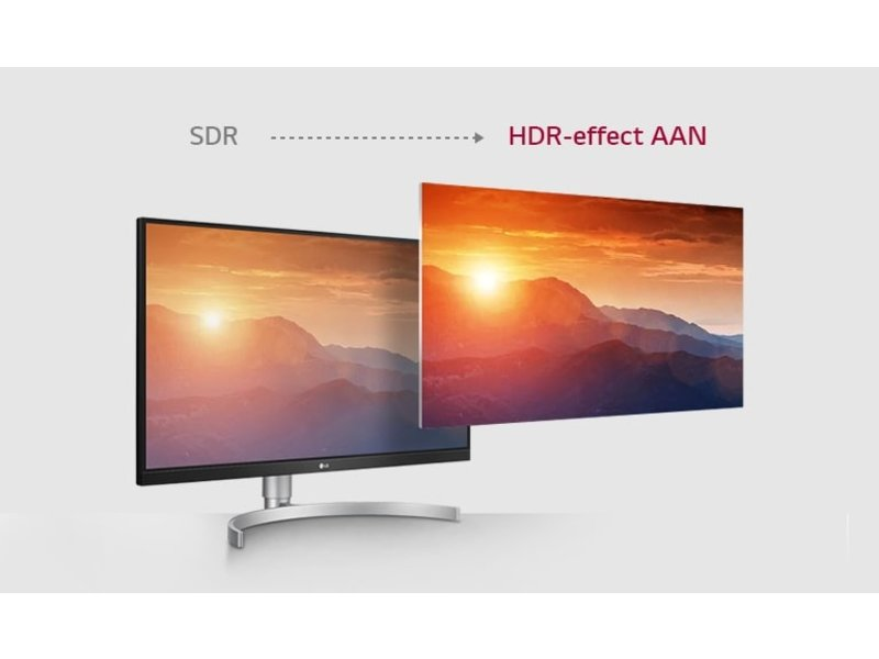 LG LG 27UL600-W 4K UHD game monitor
