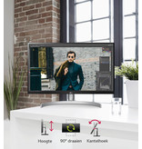 LG LG Gebogen 34'' UltraWide™ QHD (3440 x 1440) IPS Monitor