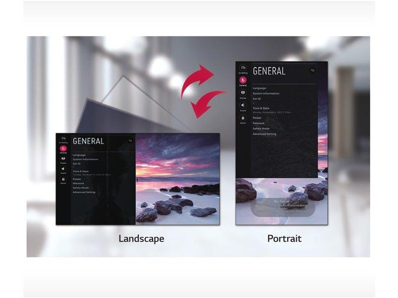 LG LG 55VM5E 55 inch Full HD display