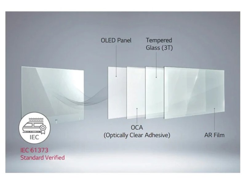 LG LG 55EW5TF-A 55 inch Full HD OLED display