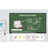 LG LG 65TR3BF 65 inch 4K IR Multi-Touch Interactief digitaal bord