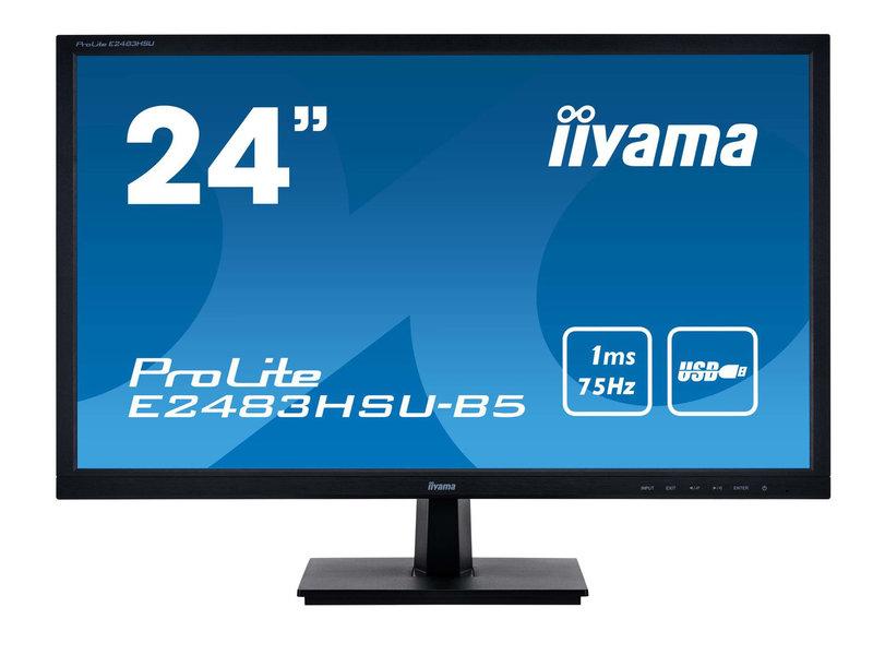iiyama iiyama E2483HSU-B5 24 inch computer monitor