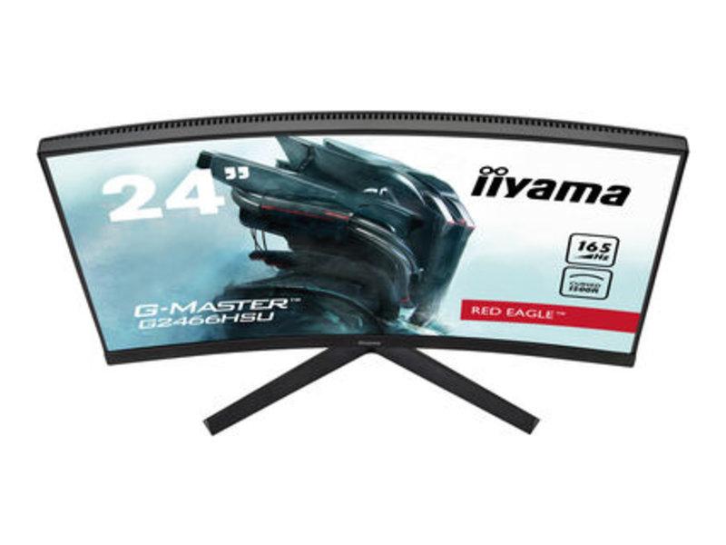 iiyama iiyama G-MASTER G2466HSU-B1 Gebogen Full HD LED computer monitor