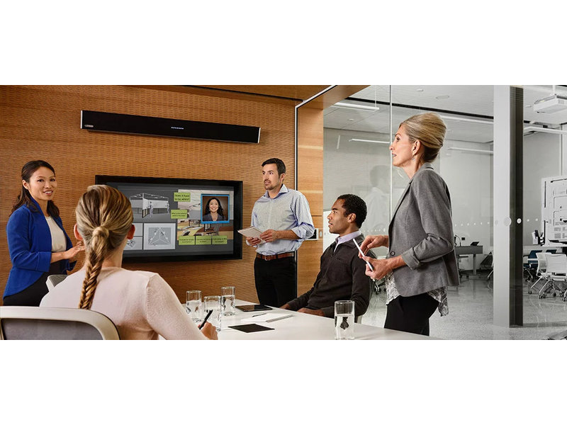Nureva Nureva Dual-HDL300-b audio conferencingsysteem zwart