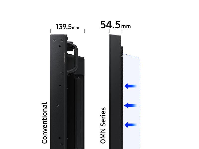 Samsung Samsung OM75R UHD semi-buiten signage
