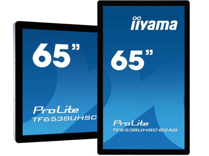 iiyama Iiyama TF6538UHSC-B2AG 65 inch 4K UHD Interactief flatscreen