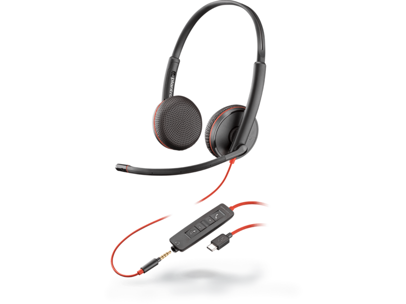 POLY POLY BlackWire 3325 bedraad headset