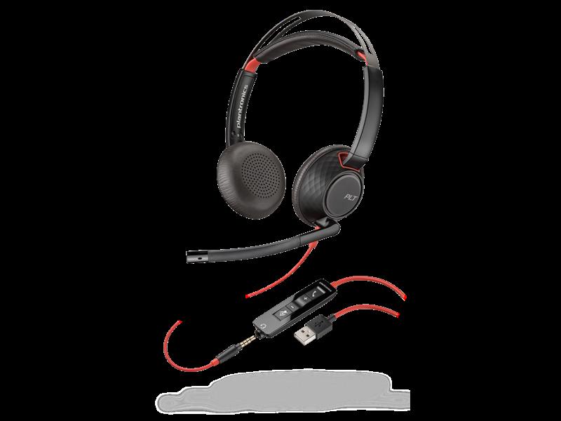 POLY POLY BlackWire C5220 bedraad headset
