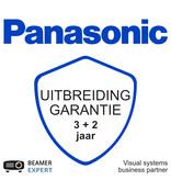 Panasonic Panasonic uitbreiding garantie met 2 jaar