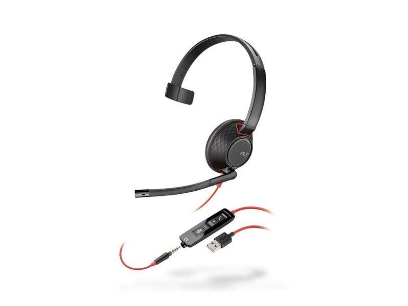 POLY POLY BlackWire 5210 bedraad headset