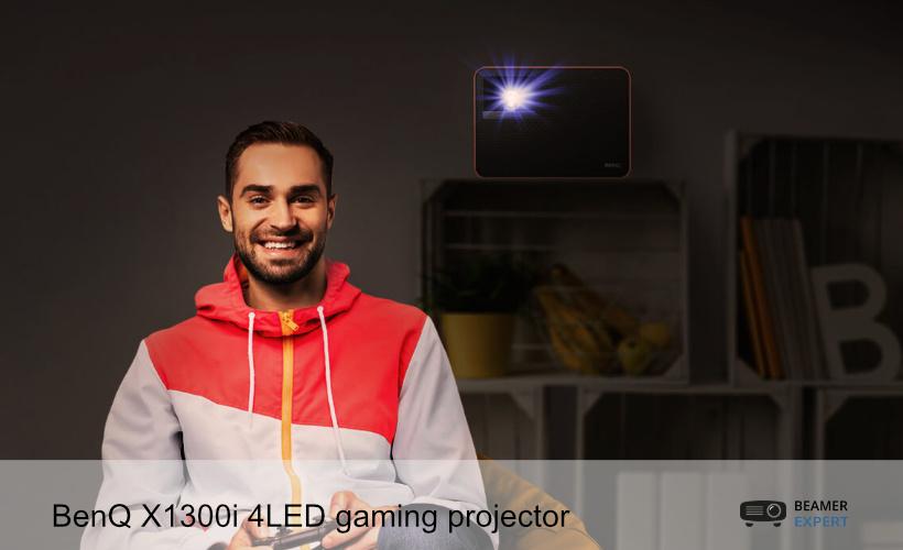 BenQ X1300i gaming projector PS5 en Xbox Series X