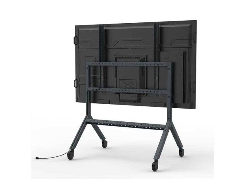 """Heckler Heckler H592-BG AV-trolley voor beeldschermen van 75 """" tot 98"""""""