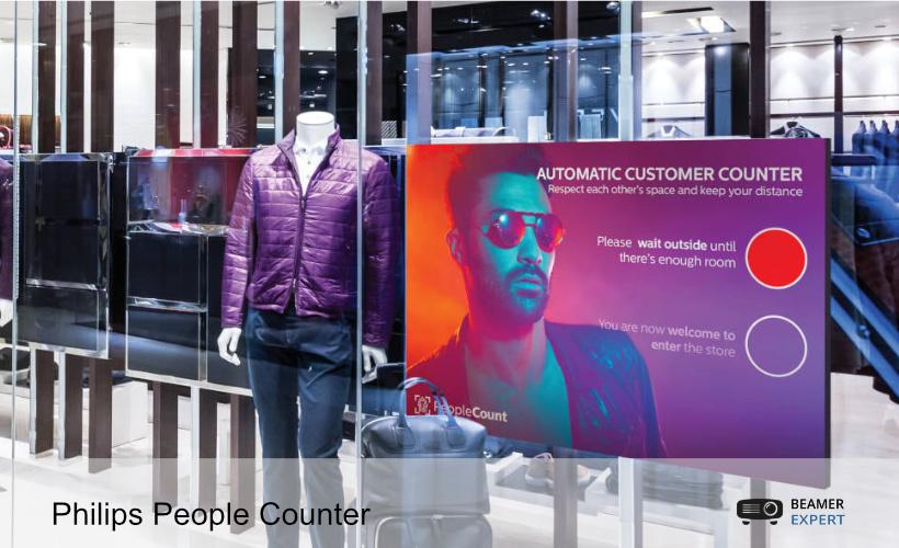 PeCo toont visueel aantal bezoekers in uw winkel