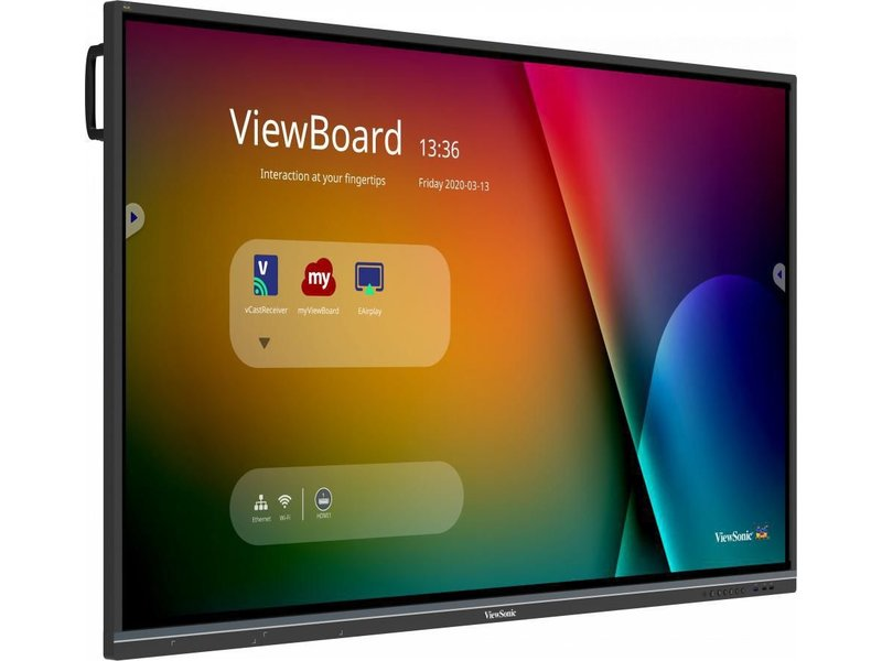 Viewsonic ViewBoard IFP5550-3 UHD UFT 4-way split display