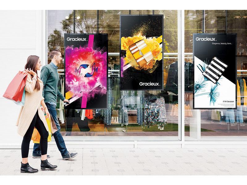 Samsung Samsung OM55N FHD semi-buiten signage