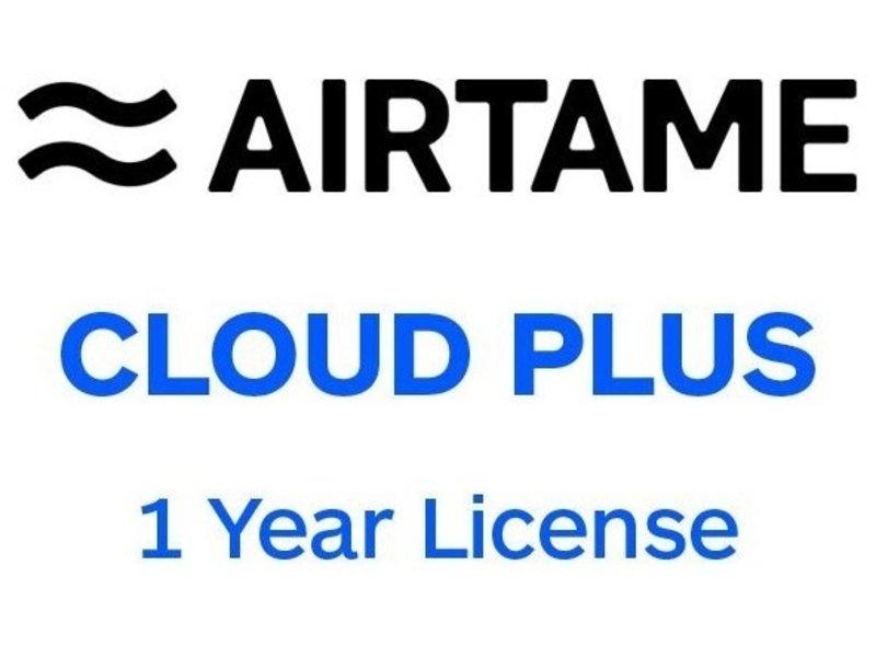 Airtame Airtame Cloud Plus licentie 1 of 2 jaar