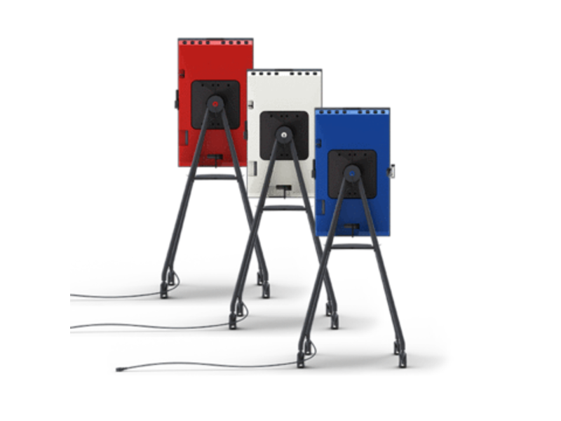 i3 Technologies i3SIXTY R OnAir Blue Digitaal Flipchart Display