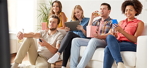 Televisies in allerlei maten en types