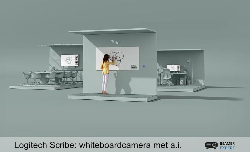 Logitech introduceert whiteboardcamera Scribe