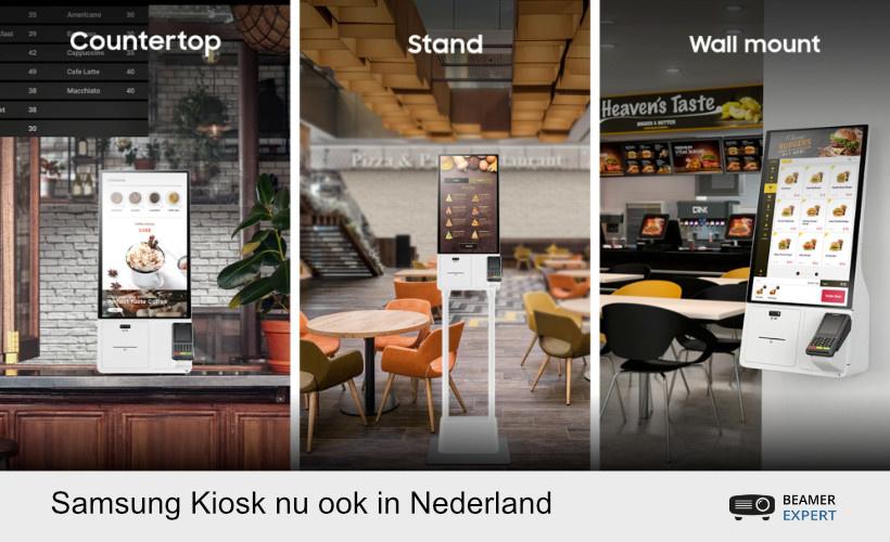 Samsung Kiosk nu ook in Nederland verkrijgbaar