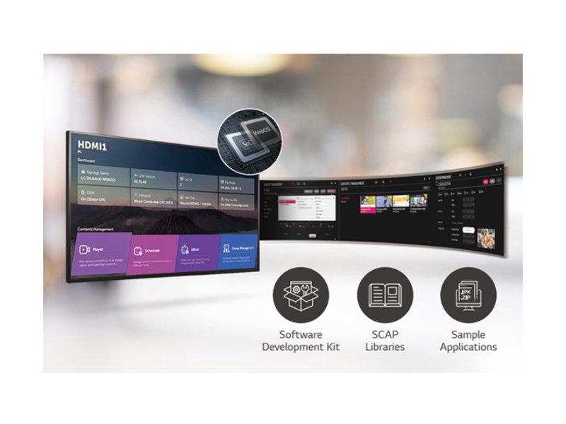 LG LG 86UM3DG-H 86 Inch Pro LED 4K UHD