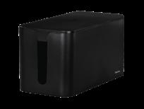 Hama kabelbox mini zwart
