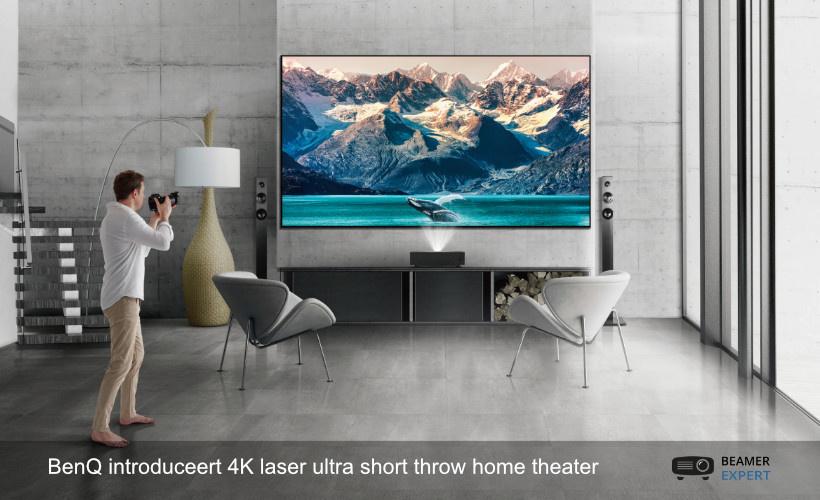 BenQ introduceert 4K laser ust home theater beamer